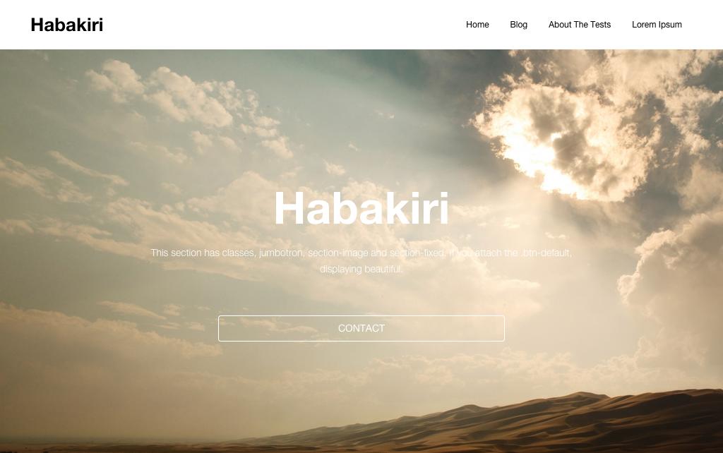 Habakiri